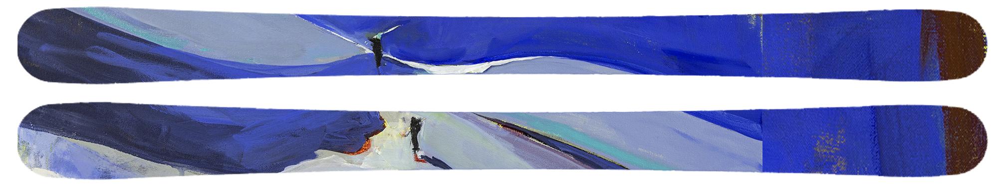 Cornice on skis